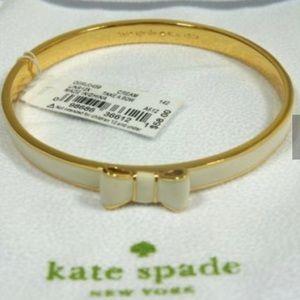 Kate Spade Take a Bow Bracelet White
